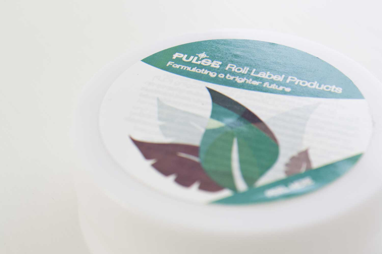pulse peel and read graphic design