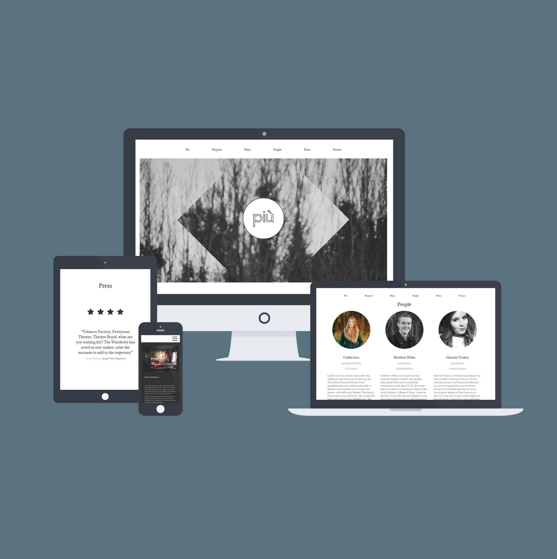 Piu responsive web design