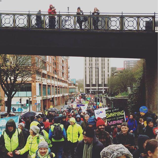 Bristol climate march