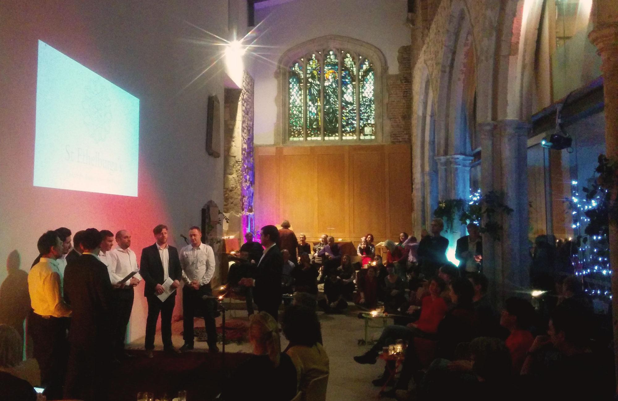 St Ethelburga's Christmas Party